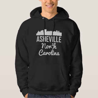 Asheville North Carolina Skyline Hoodie