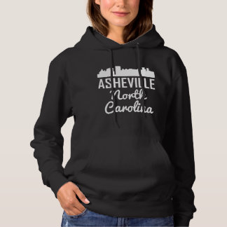 Asheville North Carolina Skyline Hoodie