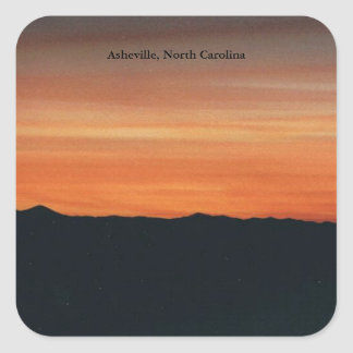 Asheville, North Carolina Sticker