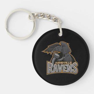 Asheville Ravens Logo Keychain