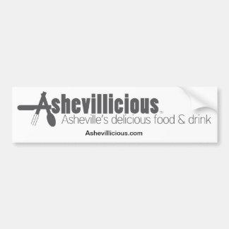 Ashevillicious Bumper Sticker