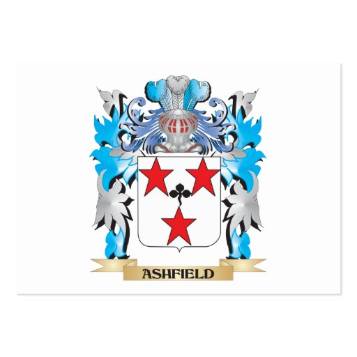 Ashfield Coat Of Arms Business Card Templates