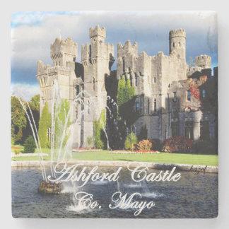 Ashford Castle, Cong, Mayo, Ireland, Irish Coaster Stone Beverage Coaster