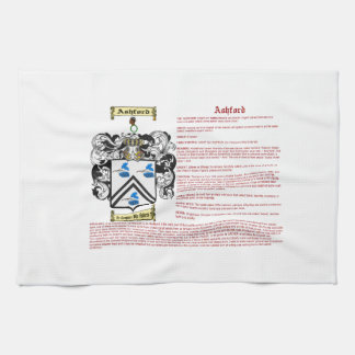 Ashford (meaning) kitchen towel