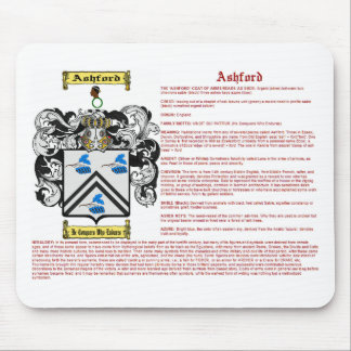 Ashford (meaning) mouse pad