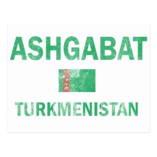 Ashgabat Turkmenistan Designs Postcard
