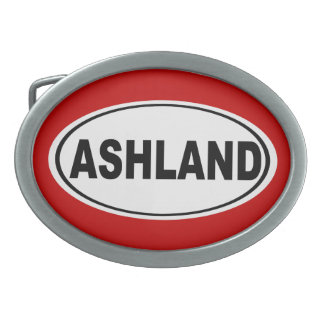 Ashland Oregon or Ohio Belt Buckle
