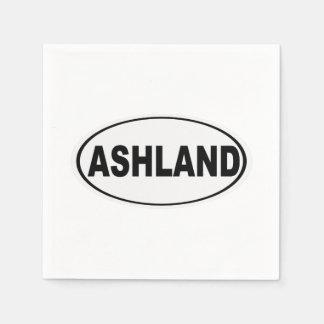 Ashland Oregon or Ohio Paper Napkin
