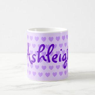 Ashleigh in Purple Coffee Mug