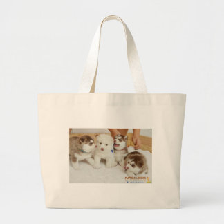 Ashley, Carrie, butterfly, and Fluffy Large Tote Bag