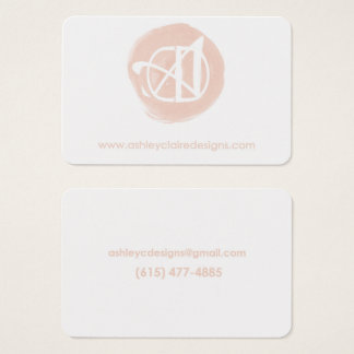 Ashley Claire Designs Business Card