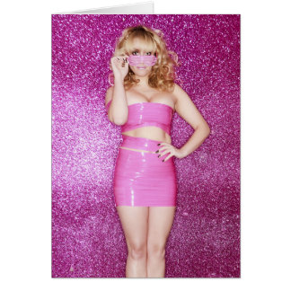 Ashley Collins SuperDiva Birthday Card