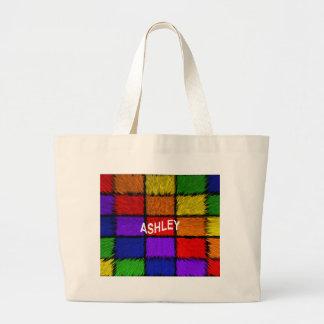 ASHLEY ( female names ) Large Tote Bag