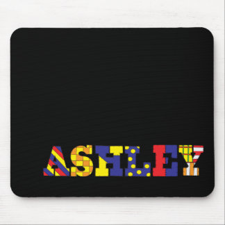 Ashley Patches Mouse Pad