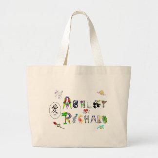 Ashley & Richard Large Tote Bag
