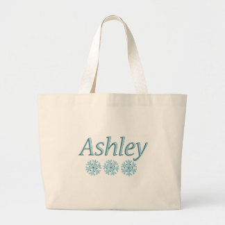 Ashley Snowflake Large Tote Bag