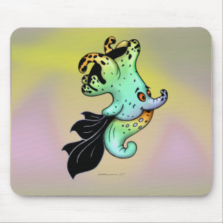 ASHLOT ALIEN FISH MONSTER CARTOON MOUSE PAD
