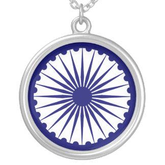 Ashoka's Dharma Chakra necklace