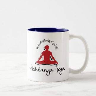 Ashtanga Yoga Gift Two-Tone Coffee Mug