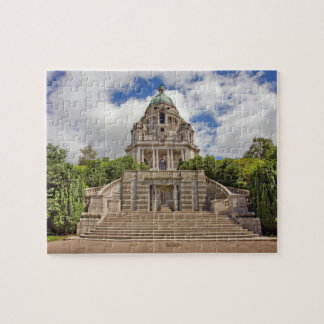 Ashton Memorial in Lancaster souvenir photo Jigsaw Puzzle