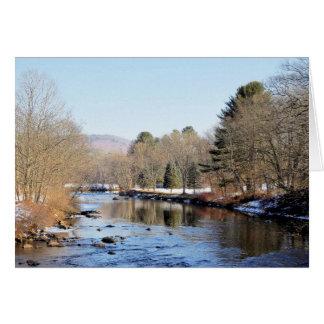 Ashuelot River Scene Card
