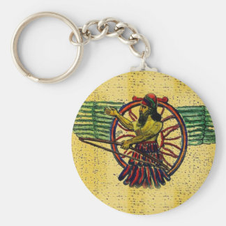 Ashur King Keychain