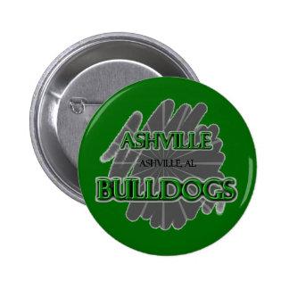 Ashville High School Bulldogs - Ashville AL Pinback Buttons