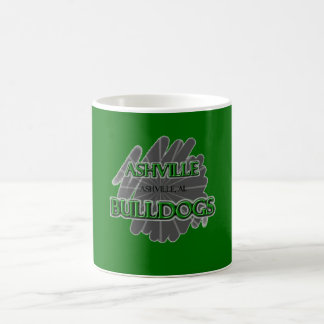 Ashville High School Bulldogs - Ashville, AL Coffee Mugs