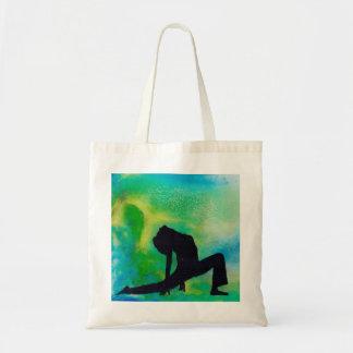 Ashwa Sancha Yoga Girl- Tote Bag