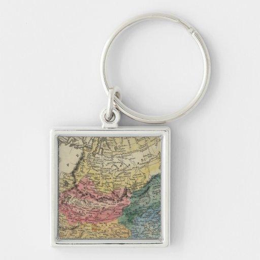 Asia 16 key chain