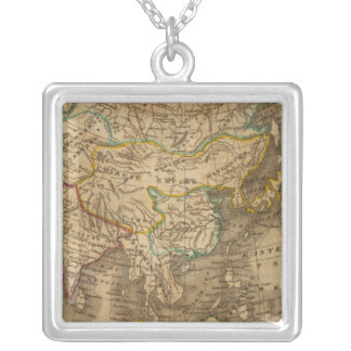 Asia 19 square pendant necklace