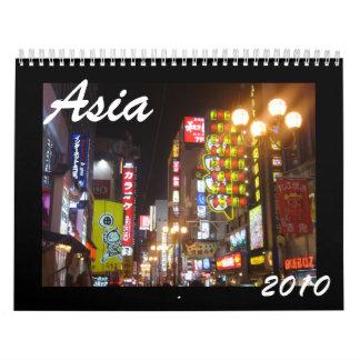 asia 2010 calendars