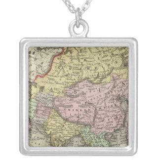 Asia 22 square pendant necklace