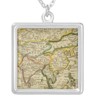 Asia 27 square pendant necklace