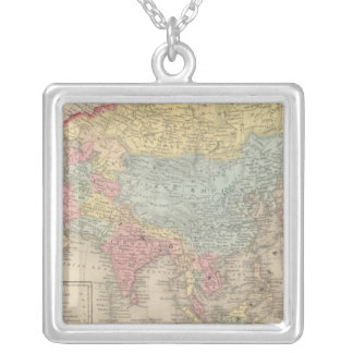 Asia 28 square pendant necklace