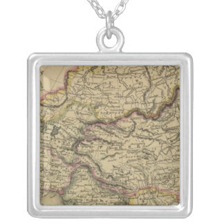 Asia 34 square pendant necklace