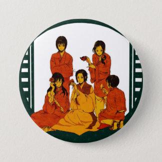 asia 3 inch round button