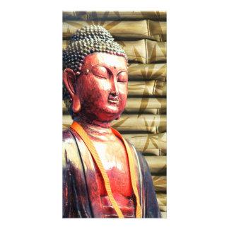 Asia Buddha Picture Card