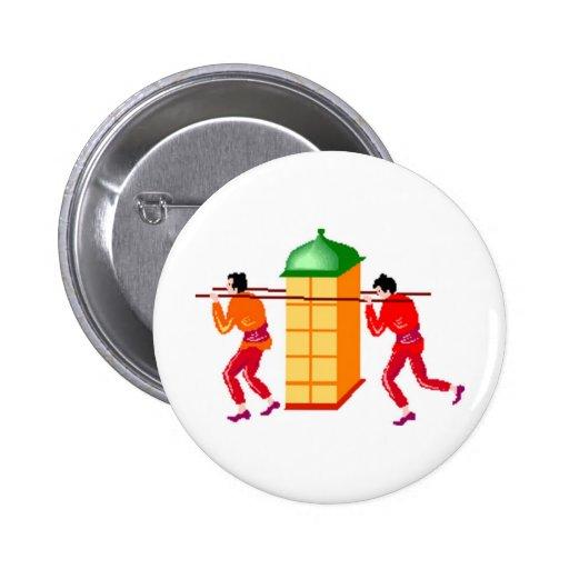 Asia Pinback Button