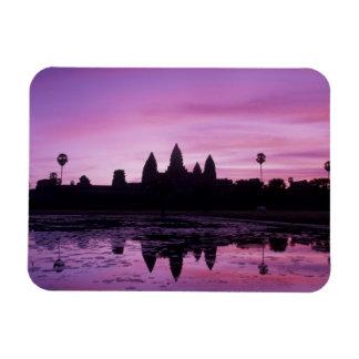 Asia, Cambodia, Siem Reap, Angkor Wat (b. 12th 2 Magnet