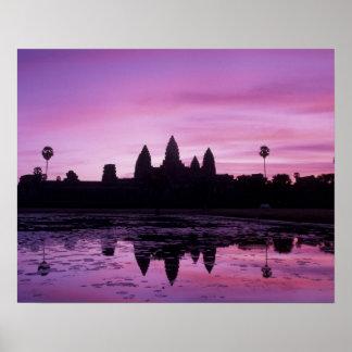Asia, Cambodia, Siem Reap, Angkor Wat (b. 12th 2 Poster