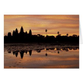 Asia, Cambodia, Siem Reap, Angkor Wat (b. 12th Card