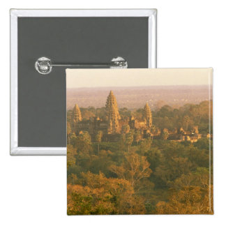 Asia, Cambodia, Siem Reap. Angkor Wat. Pinback Buttons