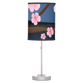 Asia Cherry Blooms Desk Lamps