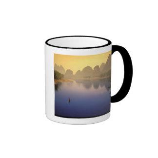 Asia, China, Guangxi Province, Yangshuo. Lone Ringer Coffee Mug