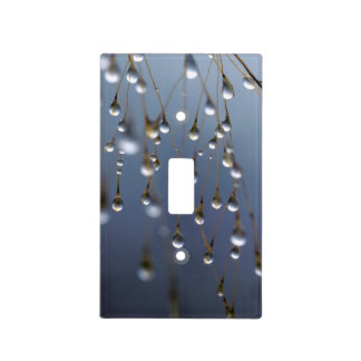 Asia, China | Huansan, Dewdrops Light Switch Cover