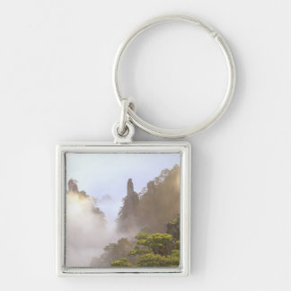 Asia, China, Huanshan. The Yellow Mountain in Keychains