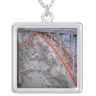 Asia, China, Yangtze River. Zigui to Men Tian Silver Plated Necklace