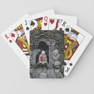 Asia, Indonesia, Bali. A shrine of Buddha Playing Cards
