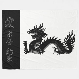 Asia Inspired by Chole Wess Fleece Blanket